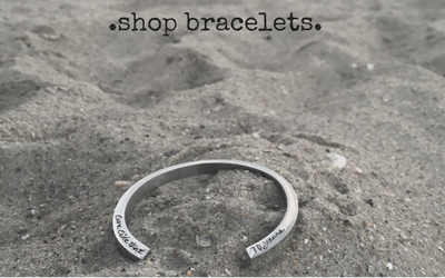 Meaningful Hand Stamped Jewelry