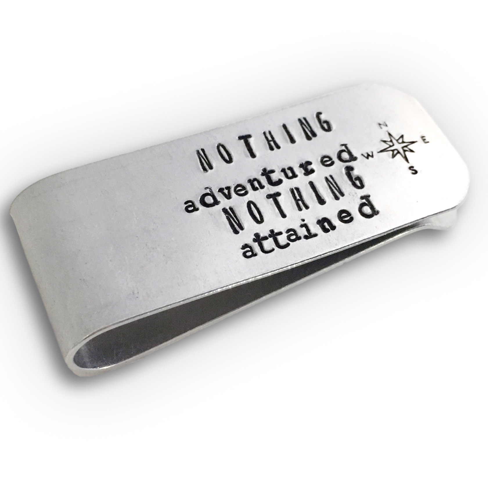 Mens Personalized Money Clip