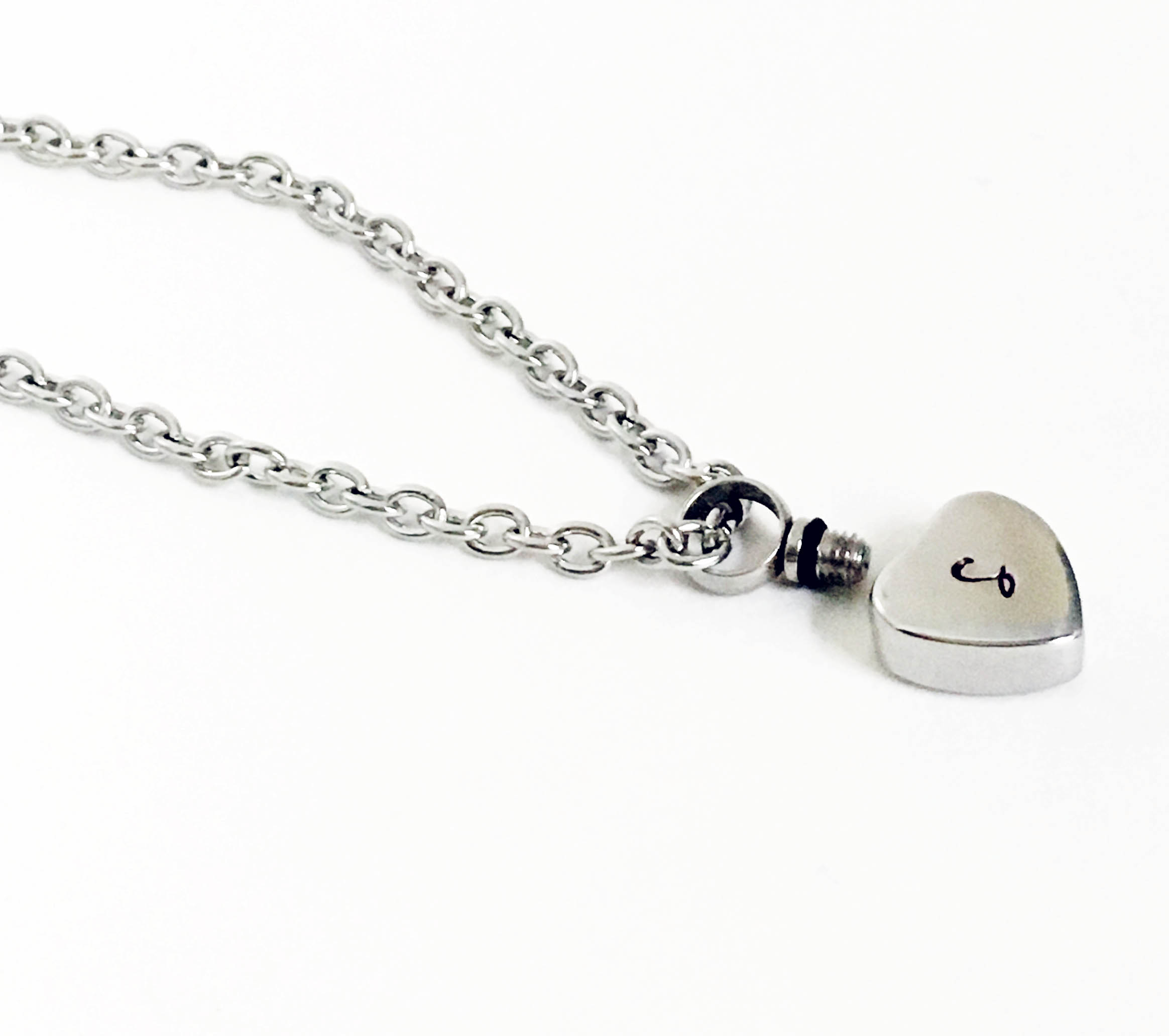 pendant stainless cremation note memorial steel for urn p jewelry spring ashes keepsake necklace music