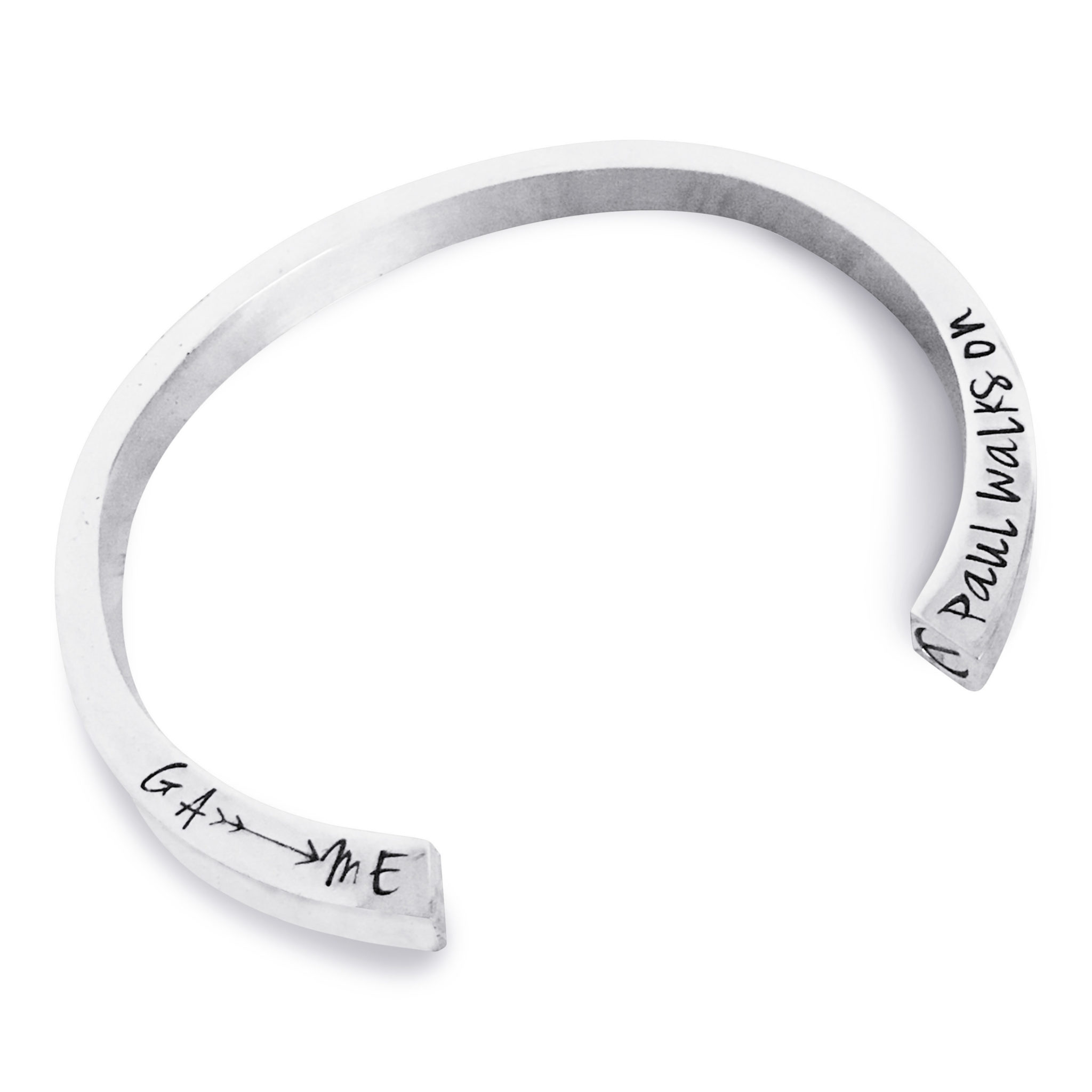 Personalized Outdoor Adventure Keepsake Bracelet
