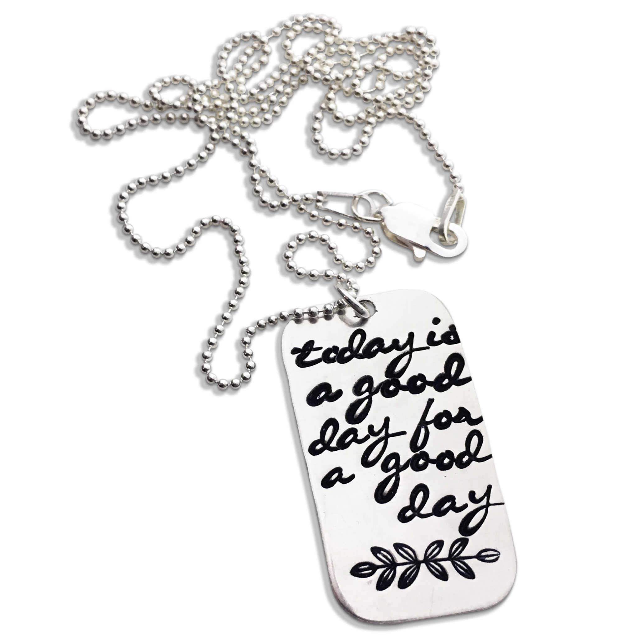 Good Day Sterling Silver Necklace