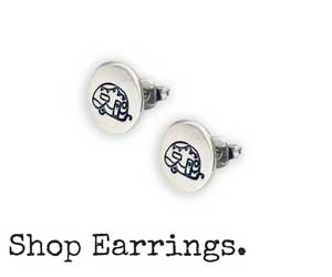 Shop Hand-Stamped Earrings